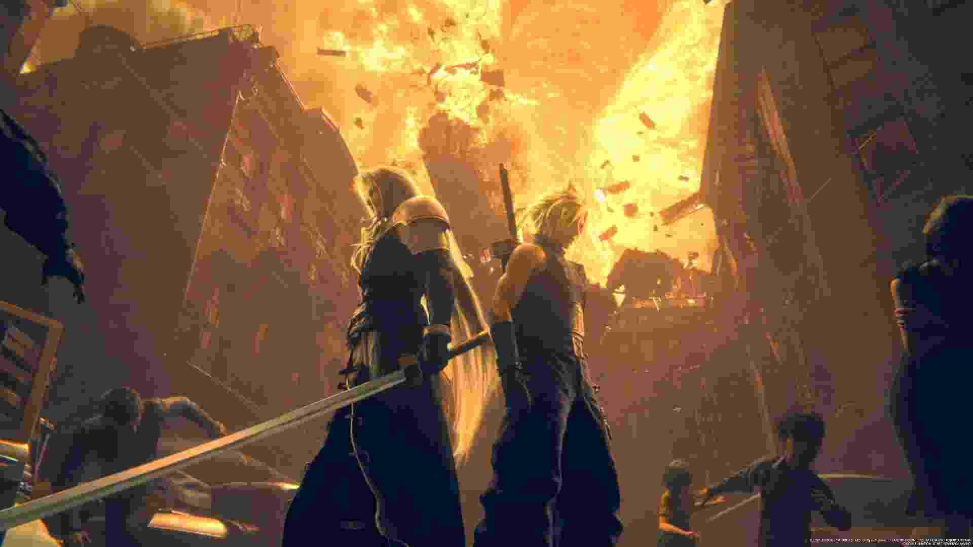 Final Fantasy VII Remake - Reprodução
