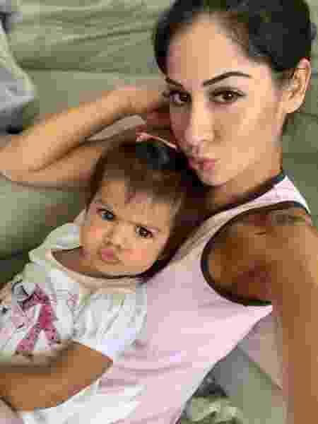 Mayra Cardi e Sophia, filha dela com o ator Arthur Auiar - Reprodução/Instagram