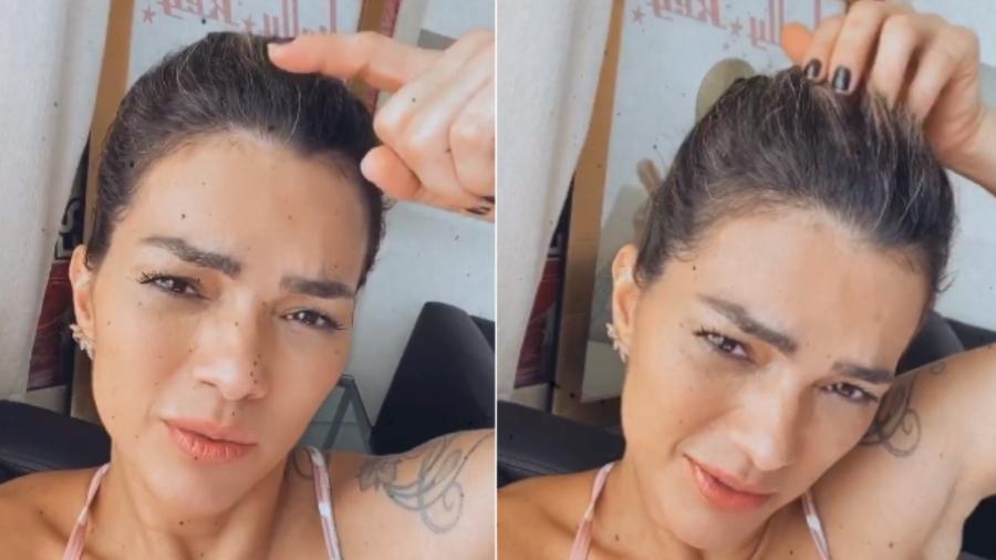 """Kelly Key: """"Não vou mais ficar arrancando cabelo branco"""" - Reprodução/Instagram"""