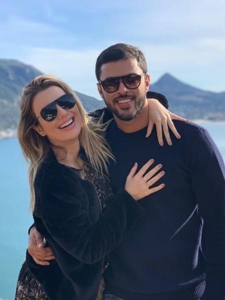 Fernanda Keulla com o namorado Matheus Costa - Reprodução/Instagram