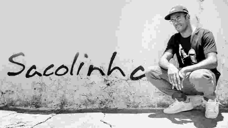 O escritor Sacolinha - Divulgação