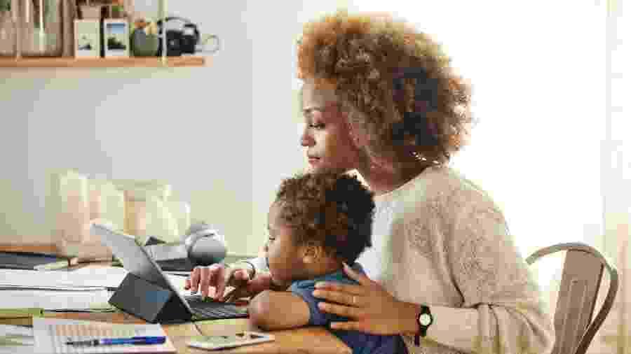 70% dos trabalhadores gostariam de permanecer em home office, indica pesquisa - Morsa Images/Getty Images
