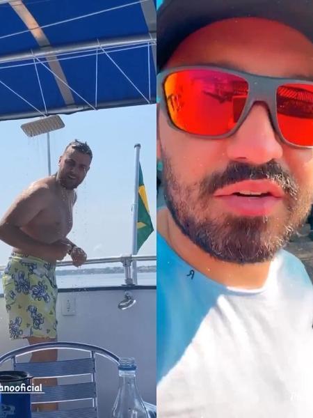 Fernando zor brimca com zé neto - Reprodução/Instagram - Reprodução/Instagram