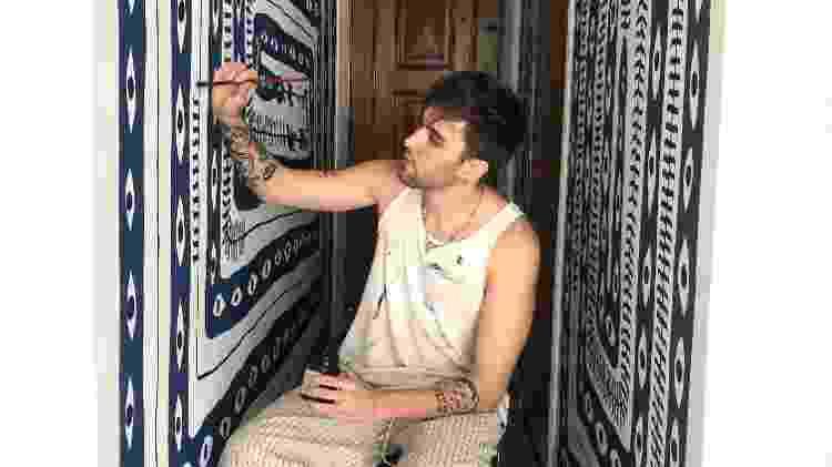 corredor - pintura - Arquivo pessoal - Arquivo pessoal