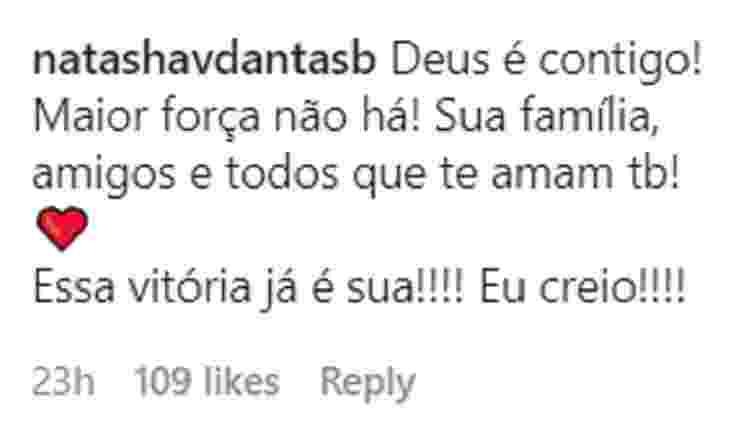 Natasha Dantas - Reprodução/Instagram - Reprodução/Instagram
