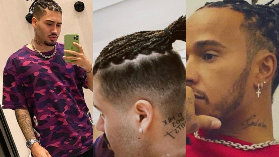 Kevinho revela visual novo inspirado em Lewis Hamilton - Reprodução/ Instagram @kevinho