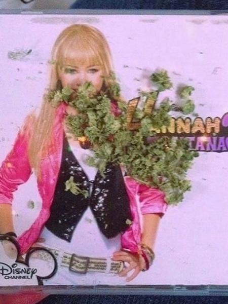 """As fotos inusitadas foram compartilhadas no perfil de """"Hannah Montana"""" no Instagram - Reprodução/Instagram"""