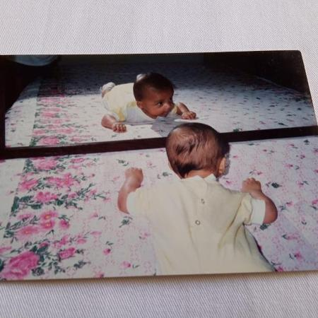Gabriela Augusto bebê - Arquivo pessoal