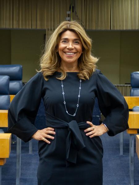A vereadora Cris Monteiro, do Novo (SP), deixou o mercado financeiro e está no seu primeiro mandato - Divulgação