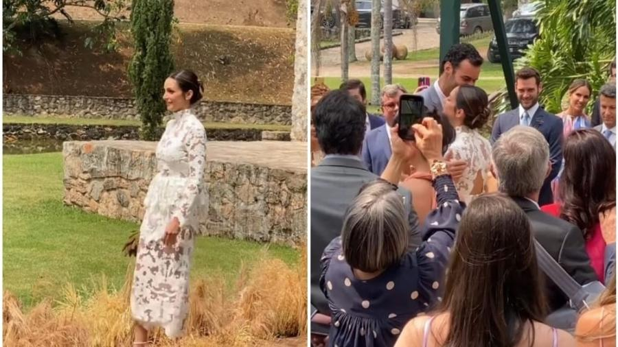 Carol Celico e Eduardo Scarpa comemoram casamento - Reprodução/Instagram