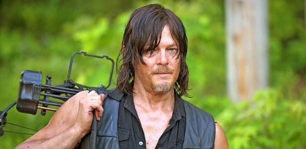 """08.jul.2016 - Norman Reedus como Daryl Dixon na sexta temporada de """"The Walking Dead"""" - Divulgação/AMC"""