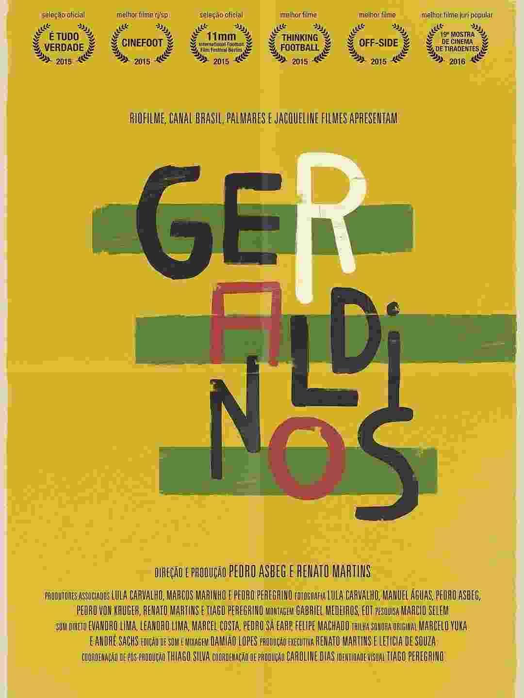 """Pôster do filme """"Geraldinos"""" - Divulgação"""
