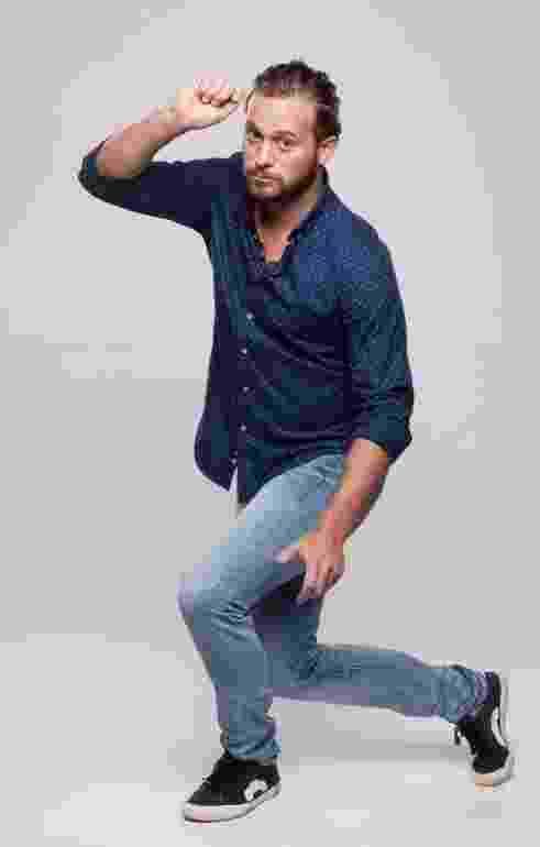 O chef de cozinha Dalton Rangel tem 29 anos e fará fará par com a bailarina Érica Martinez - Blad Meneghel e Edu Moraes/Record TV