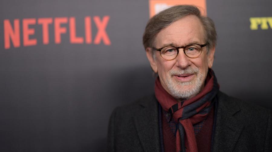 """Steven Spielberg durante lançamento da série """"Five Came Back"""" no Lincoln Center, em Nova York - Getty Images"""