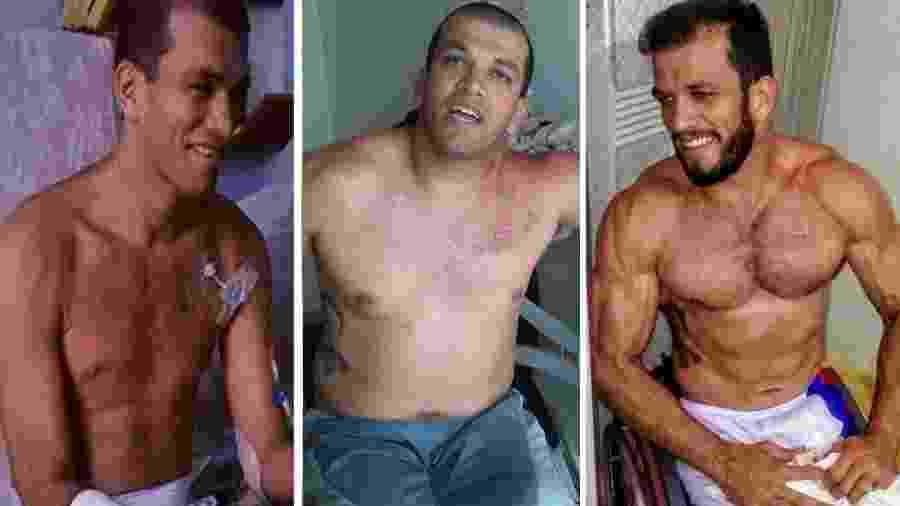 Após sair do hospital, Ulisses chegou a pesar 65 quilos que logo viraram 115 - Reprodução/Instagram