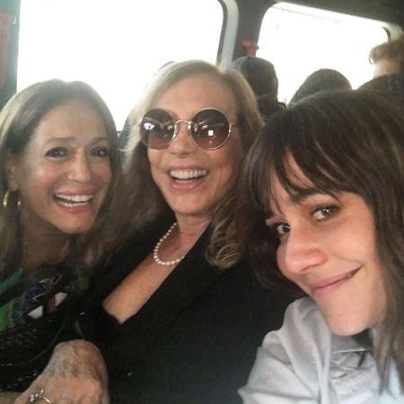 Susana Vieira, Arlete Salles e Alessandra Negrini - Reprodução/Instagram