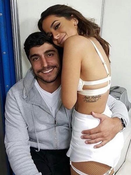 Anitta e seu marido, Thiago Magalhães - Reprodução/Instagram/euleodias
