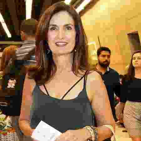 Fátima Bernardes assiste a musical de Ayrton Senna no Rio de Janeiro - Marcos Ferreira / Brazil News - Marcos Ferreira / Brazil News