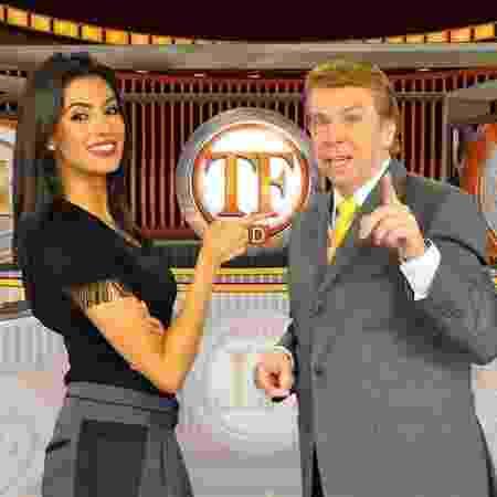 Flávia Noronha e Nelson Rubens apresentam o TV Fama  - Divulgação