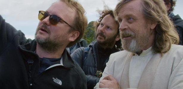 """Cena do documentário """"The Director and the Jedi"""""""