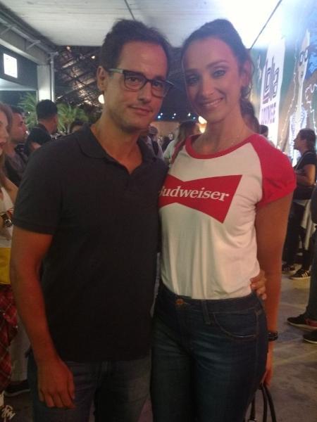 Guilherme Nehemy e Sabrina - Felipe Pinheiro/UOL