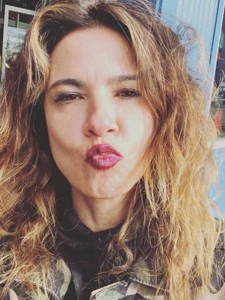 A apresentadora Luciana Gimenez - Reprodução