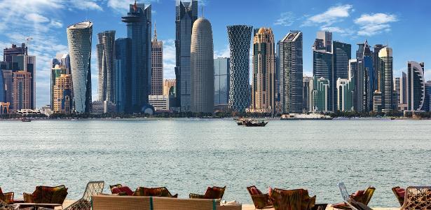 Capital do Catar, Doha tem paisagens extremamente modernas