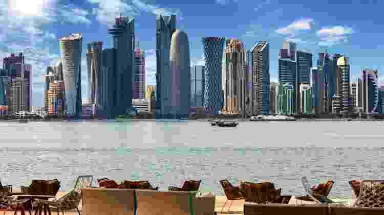 Paisagem de Doha, no Qatar - Getty Images/iStockphoto - Getty Images/iStockphoto