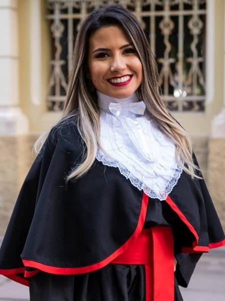 Isabelle Moreira se formou em Direito - Reprodução/Instagram/bellemoreiira
