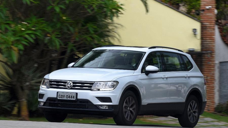 Volkswagen Tiguan - Murilo Góes/UOL