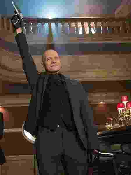 """Anthony Carrigan como Victor Zsasz em """"Gotham"""" - Divulgação/IMDb - Divulgação/IMDb"""