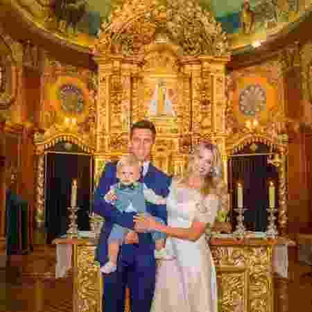 Karina Bacchi e Amaury Nunes se casam em cerimônia religiosa - Reprodução/Instagram/karinabacchi