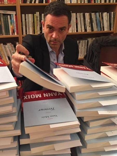 O escritor francês Yann Moix - Reprodução/Facebook