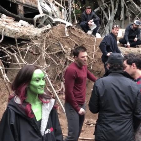 Bastidores de Vingadores: Ultimato reúne astros - Reprodução/Instagram