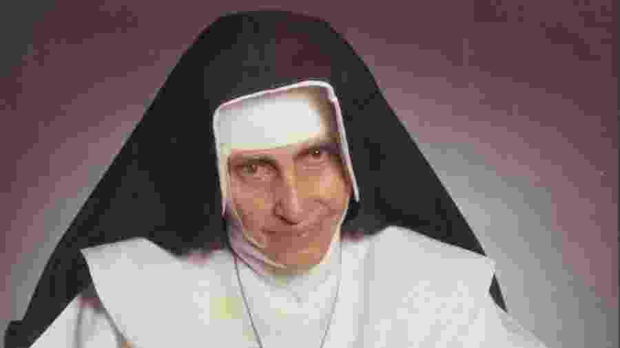 A beata Irmã Dulce, que será canonizada pelo Vaticano - Divulgação/Arquivo OSID
