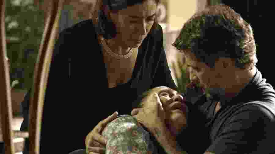 Judith confessa que é a assassina e morre - Reprodução/Gshow