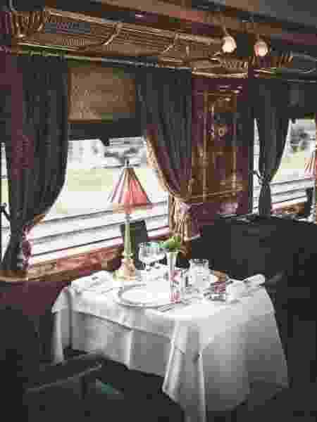 Restaurantes de alta gastronomia fazem parte do trem - Divulgação/Belmond