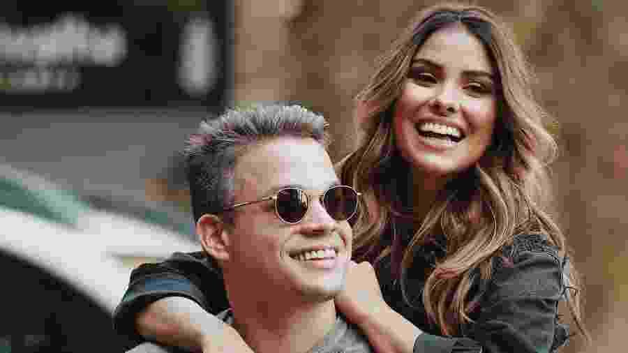 Anderson Felício e Munik Nunes quando ainda eram casados - Reprodução/Instagram