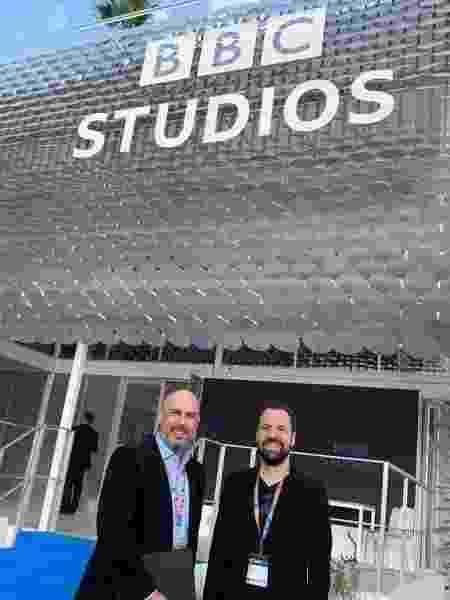 Douglas Tavolaro e Virgílio Abranches, da CNN Brasil - Divulgação