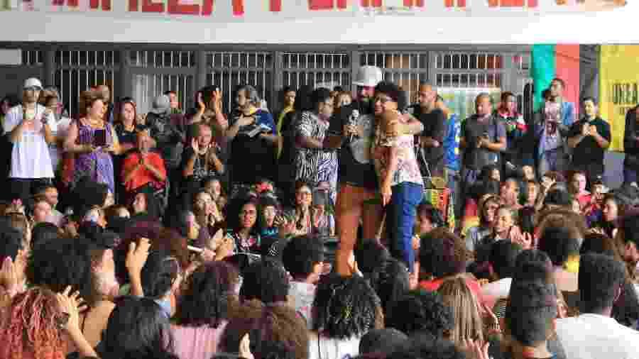 Douglas Belchior, fundador da Uneafro, em comemoração aos dez anos da iniciativa que oferece cursinho pré-vestibular a alunos de escolas públicas - Arquivo pessoal