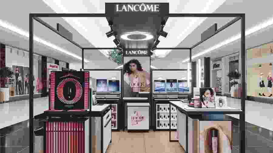 Primeiro quiosque exclusivo da Lancôme no Brasil é inaugurado no Rio de Janeiro - Divulgação