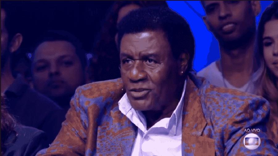 No júri do Popstar deste domingo, Tony Tornado atraiu comentários dos internautas - Reprodução/TV Globo