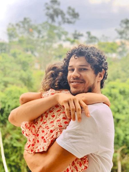 José Loreto posta foto fofa com a filha - Reprodução/Instagram