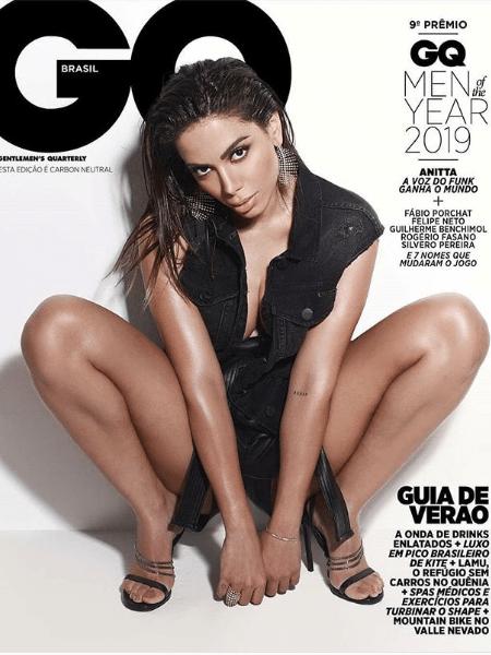 Anitta na capa da revista GQ - Divulgação
