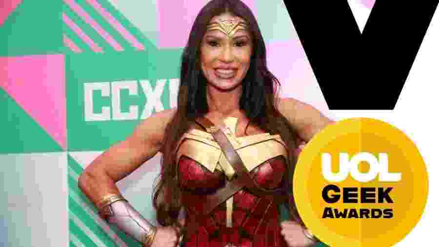 Gracyanne Barbosa Geek Awards - UOL
