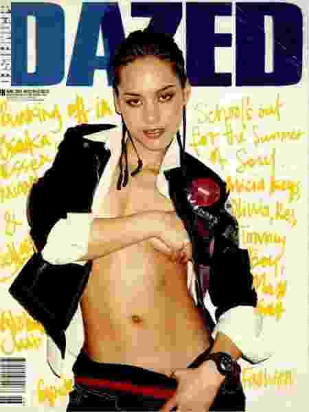 Alicia Keys na capa da revista Dazed, em 2001 - Reprodução/Tumblr - Reprodução/Tumblr