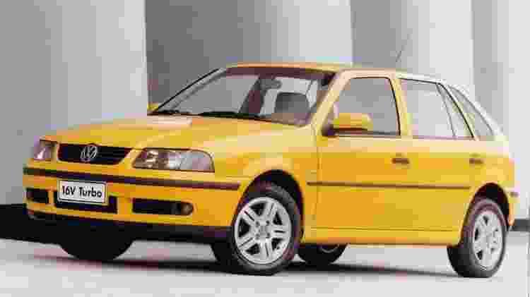 VW Gol Turbo 16V - Divulgação - Divulgação