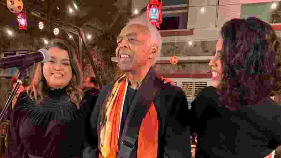 Gilberto Gil foi um dos artistas brasileiros que se rendeu ao universo das lives - Reprodução/Twitter