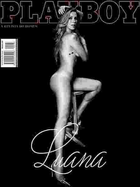 Luana Piovani em capa da edição de abril de 2016 da Playboy - Reprodução/Instagram