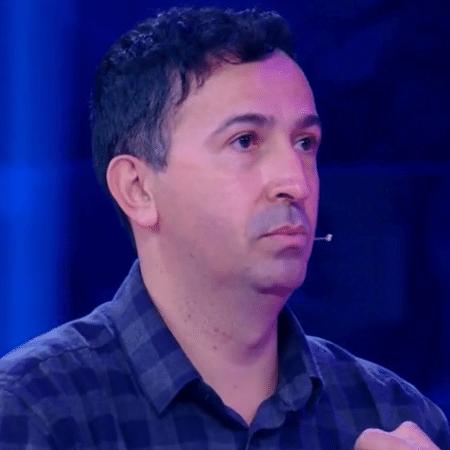 O cientista Gustavo Cabral tentou ganhar R$ 1 milhão no Caldeirão do Huck, mas deixou o programa com R$ 50 mil - Reprodução TV Globo